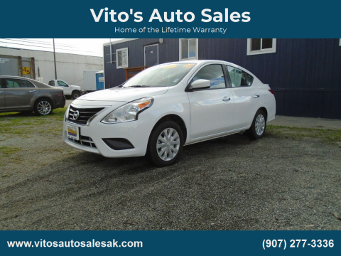 2018 Nissan Versa for sale at Vito's Auto Sales in Anchorage AK