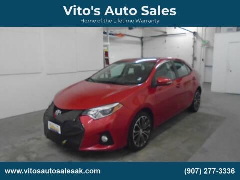 2014 Toyota Corolla S for sale at Vito's Auto Sales in Anchorage AK