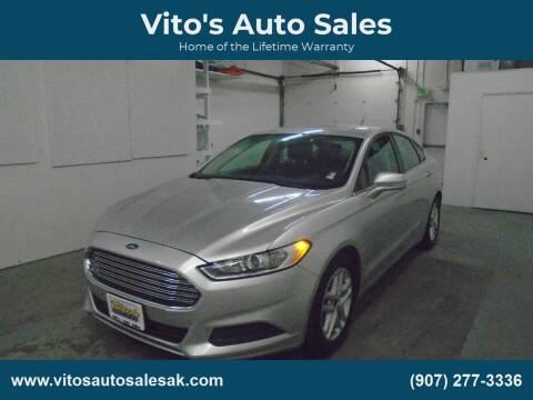 2013 Ford Fusion SE for sale at Vito's Auto Sales in Anchorage AK