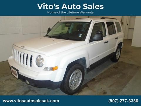 2014 Jeep Patriot Sport for sale at Vito's Auto Sales in Anchorage AK