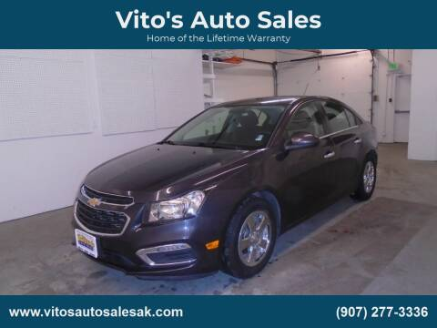 2016 Chevrolet Cruze Limited 1LT Auto for sale at Vito's Auto Sales in Anchorage AK