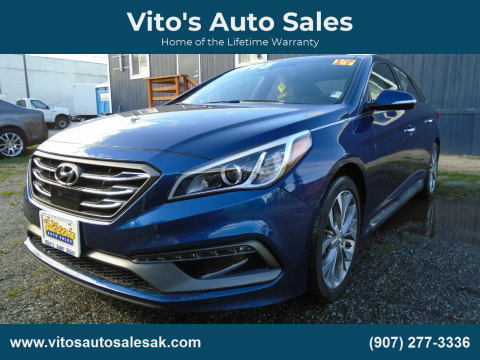 2017 Hyundai Sonata for sale at Vito's Auto Sales in Anchorage AK