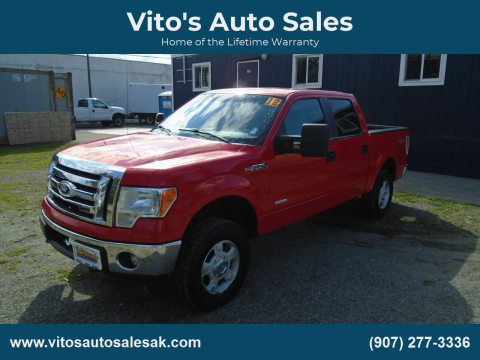 2012 Ford F-150 for sale at Vito's Auto Sales in Anchorage AK