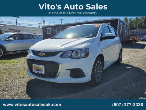 2017 Chevrolet Sonic for sale at Vito's Auto Sales in Anchorage AK