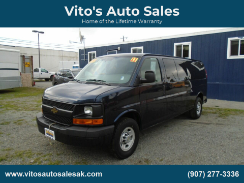 2011 Chevrolet Express Passenger for sale at Vito's Auto Sales in Anchorage AK