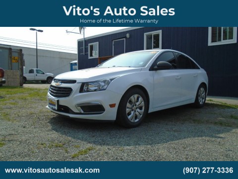 2016 Chevrolet Cruze Limited for sale at Vito's Auto Sales in Anchorage AK