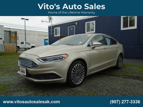 2018 Ford Fusion for sale at Vito's Auto Sales in Anchorage AK