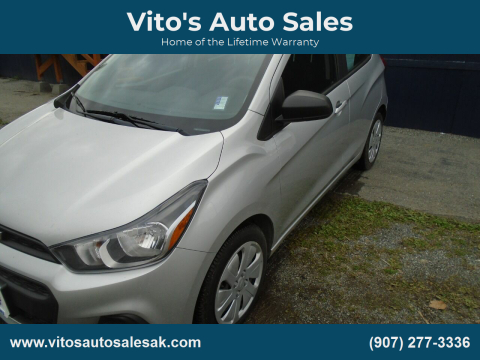 2016 Chevrolet Spark for sale at Vito's Auto Sales in Anchorage AK