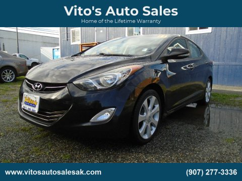 2011 Hyundai Elantra for sale at Vito's Auto Sales in Anchorage AK