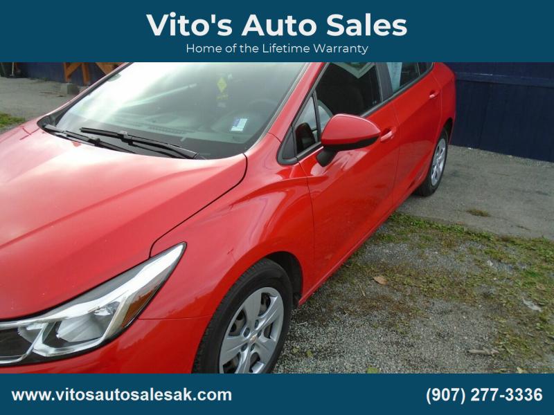 2016 Chevrolet Cruze for sale at Vito's Auto Sales in Anchorage AK