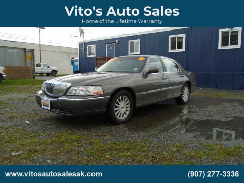 2004 Lincoln Town Car for sale at Vito's Auto Sales in Anchorage AK
