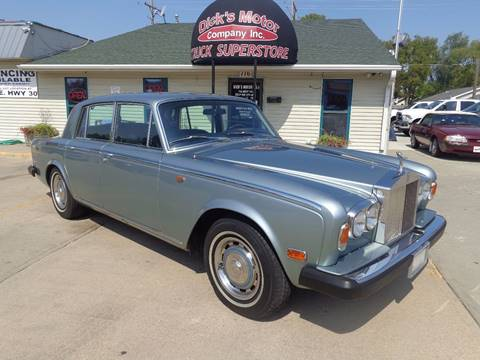 1978 Rolls-Royce Silver Shadow for sale in Grand Island, NE
