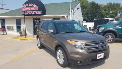 2015 Ford Explorer for sale at DICK'S MOTOR CO INC in Grand Island NE