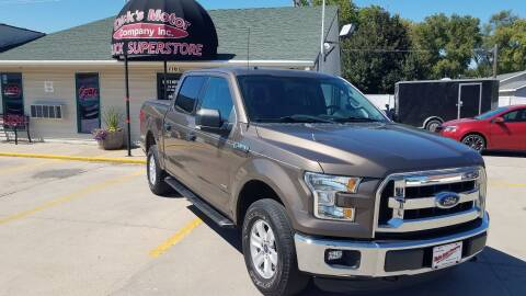 2016 Ford F-150 for sale at DICK'S MOTOR CO INC in Grand Island NE
