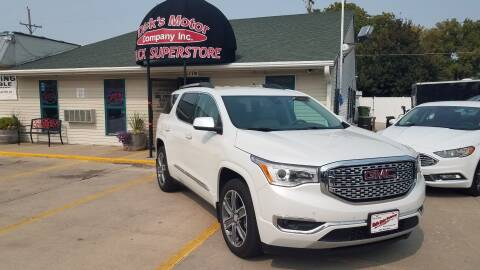 2017 GMC Acadia for sale at DICK'S MOTOR CO INC in Grand Island NE
