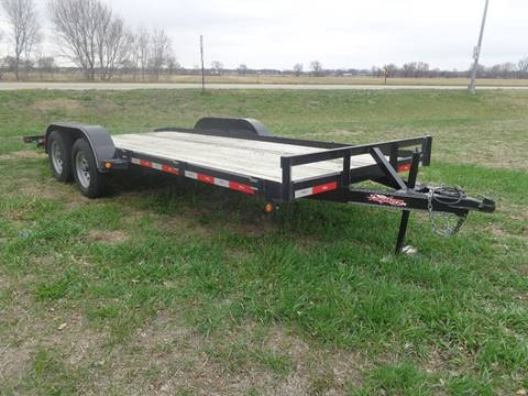 2017 East Texas Longhorn 18 Car Hauler for sale at DICK'S MOTOR CO INC in Grand Island NE