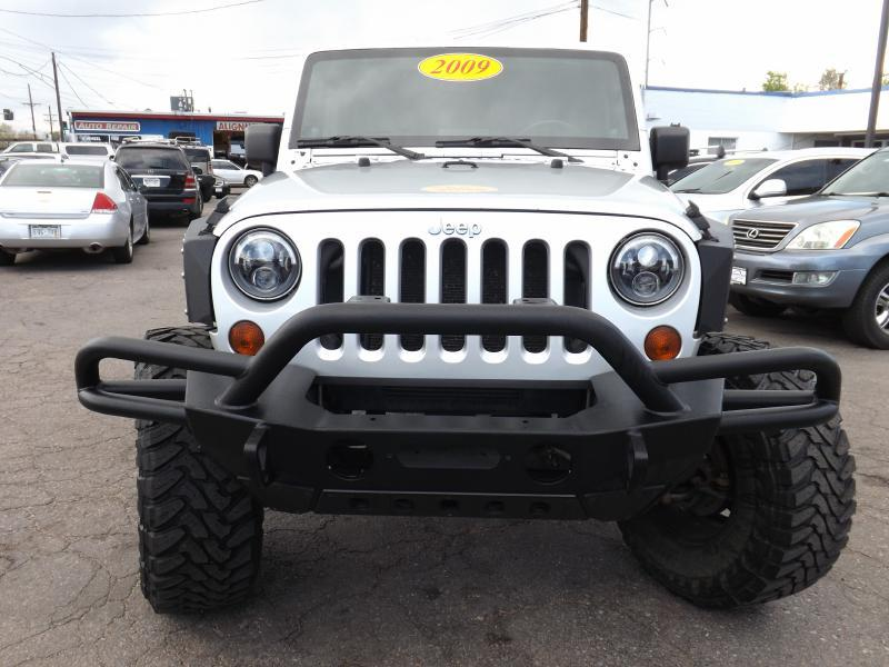 2009 Jeep Wrangler Unlimited 4x4 X 4dr SUV - Denver CO