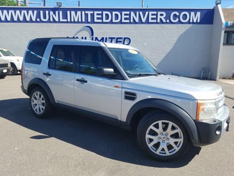2007 Land Rover LR3 for sale in Denver, CO