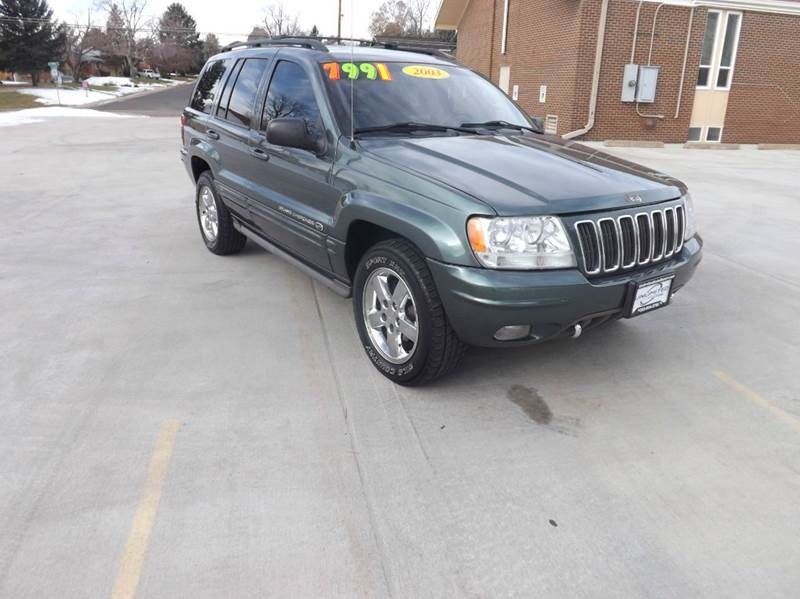 2003 jeep grand cherokee overland 4wd 4dr suv in denver co unlimited auto sales. Black Bedroom Furniture Sets. Home Design Ideas