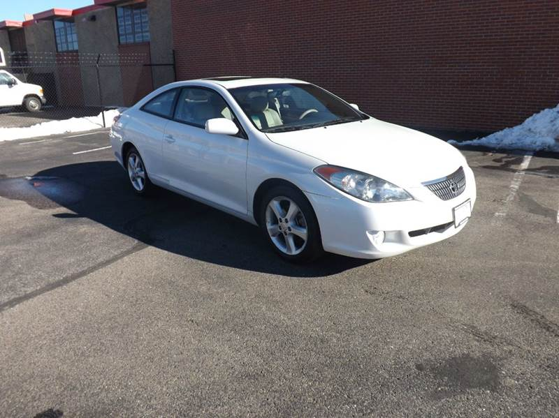 2006 toyota camry solara sle v6 2dr coupe in denver co unlimited auto sales. Black Bedroom Furniture Sets. Home Design Ideas