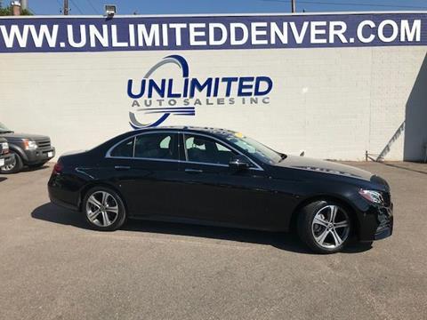 2018 Mercedes-Benz E-Class for sale in Denver, CO