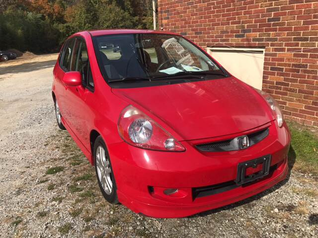2008 Honda Fit Sport 4dr Hatchback 5A   High Point NC
