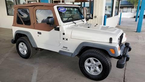 2005 Jeep Wrangler for sale in Tucson, AZ