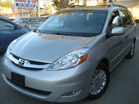 2008 Toyota Sienna for sale at CITY MOTOR SALES in San Francisco CA