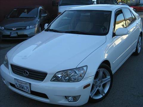 2001 Lexus IS 300 for sale at CITY MOTOR SALES in San Francisco CA