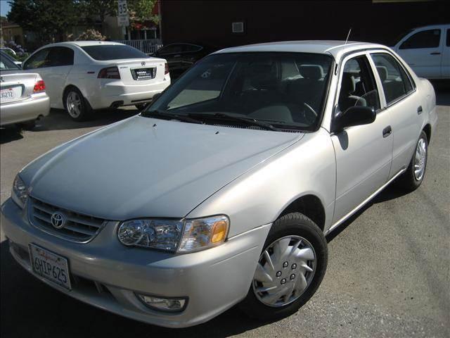 2001 Toyota Corolla CE; S; LE   San Jose CA