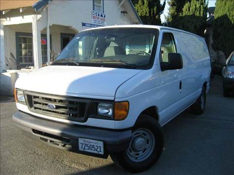 2006 Ford E-Series Cargo for sale at CITY MOTOR SALES in San Francisco CA
