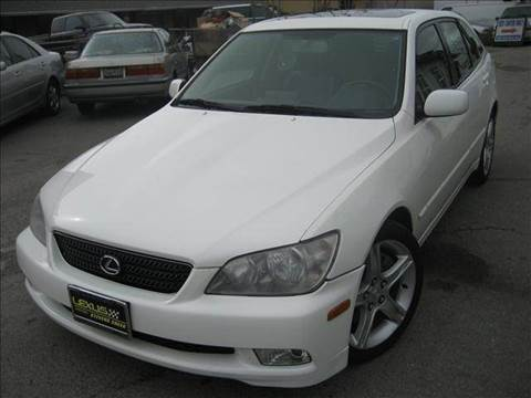 2003 Lexus IS 300 for sale at CITY MOTOR SALES in San Francisco CA