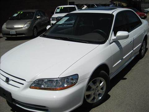 2001 Honda Accord for sale at CITY MOTOR SALES in San Francisco CA
