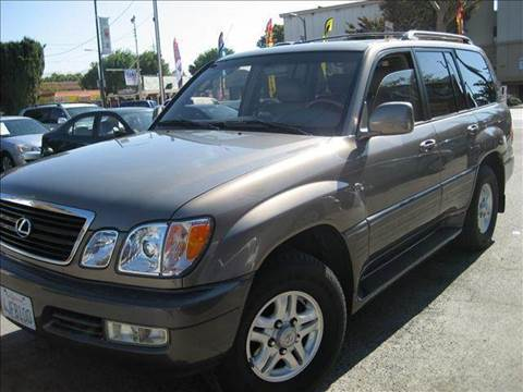 2000 Lexus LX 470 for sale at CITY MOTOR SALES in San Francisco CA