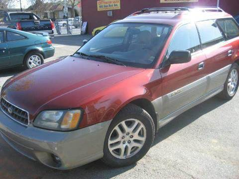 2003 Subaru Outback for sale at CITY MOTOR SALES in San Francisco CA