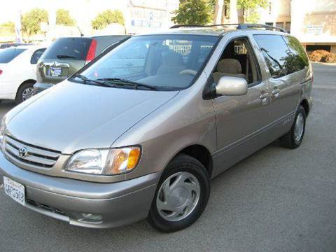 2001 Toyota Sienna for sale at CITY MOTOR SALES in San Francisco CA