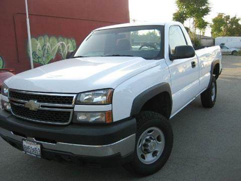 2007 Chevrolet Silverado 2500HD Classic for sale at CITY MOTOR SALES in San Francisco CA