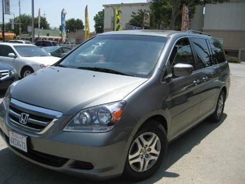 2007 Honda Odyssey for sale at CITY MOTOR SALES in San Francisco CA