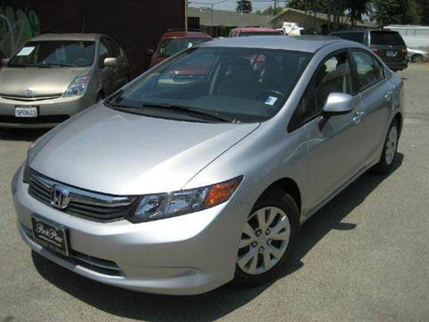 2012 Honda Civic for sale at CITY MOTOR SALES in San Francisco CA