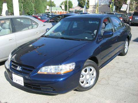2002 Honda Accord for sale at CITY MOTOR SALES in San Francisco CA