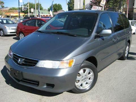 2002 Honda Odyssey for sale at CITY MOTOR SALES in San Francisco CA