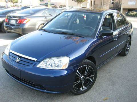 2003 Honda Civic for sale at CITY MOTOR SALES in San Francisco CA