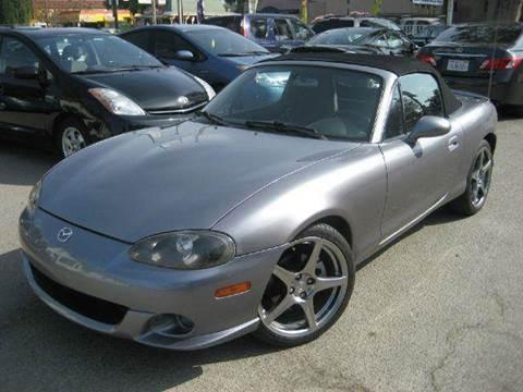 2004 Mazda MAZDASPEED MX-5 for sale at CITY MOTOR SALES in San Francisco CA