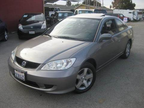 2004 Honda Civic for sale at CITY MOTOR SALES in San Francisco CA