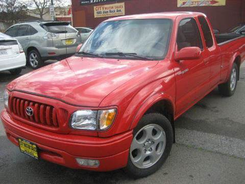 2001 Toyota Tacoma for sale at CITY MOTOR SALES in San Francisco CA