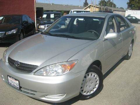 2003 Toyota Camry for sale at CITY MOTOR SALES in San Francisco CA