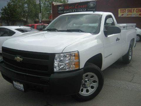 2007 Chevrolet Silverado 1500 for sale at CITY MOTOR SALES in San Francisco CA