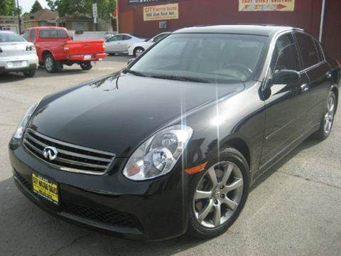 2006 Infiniti G35 for sale at CITY MOTOR SALES in San Francisco CA