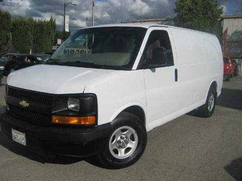 2007 Chevrolet Express Cargo for sale at CITY MOTOR SALES in San Francisco CA