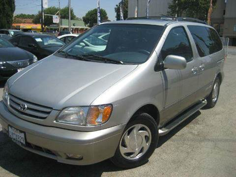 2002 Toyota Sienna for sale at CITY MOTOR SALES in San Francisco CA